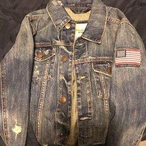 Very cool Abercrombie Kids Denim Jacket